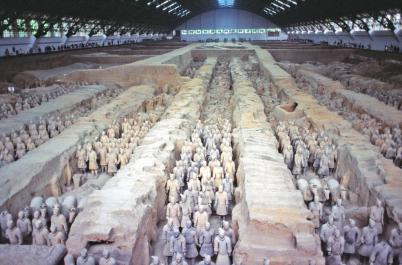 China - Mausoleum of the First Qin Emperor