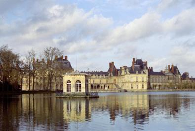 France - Palace and Park of Fontainebleau